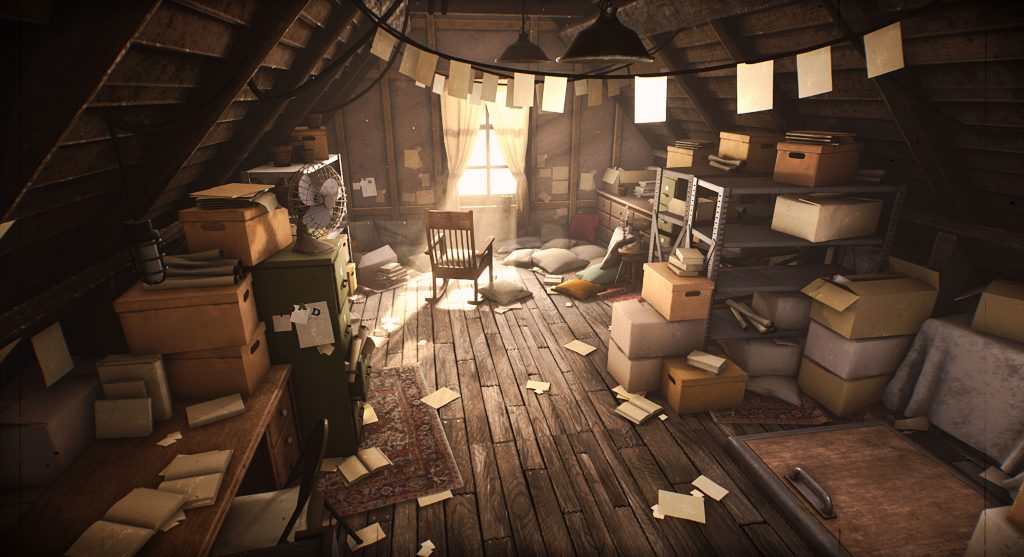 Gone & Lost - The Attic by Jimmy Ghysens Search For A Star Environment Art Winner 2019