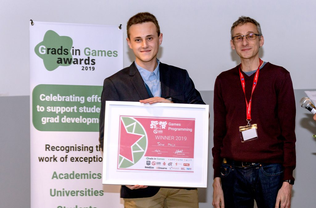 Tahar Meijs, 2019 Winner of Sumo Digital Rising Star Games Programming