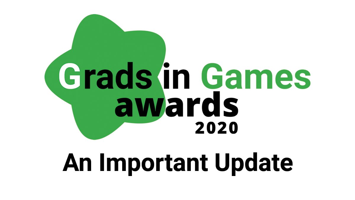 An Important Update From Grads in Games