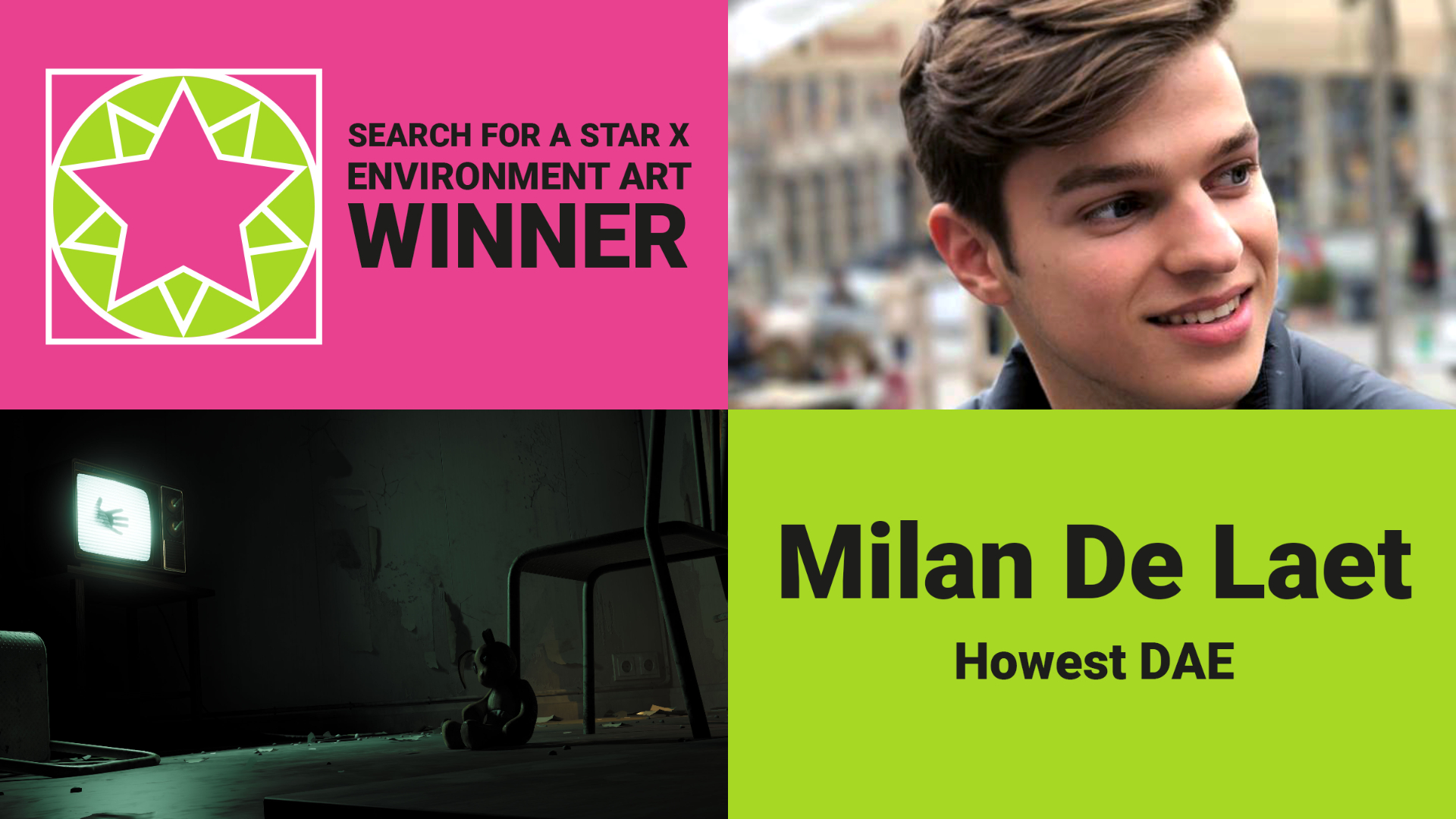 Milan De Laet- SFASX Winner Games Environment Art