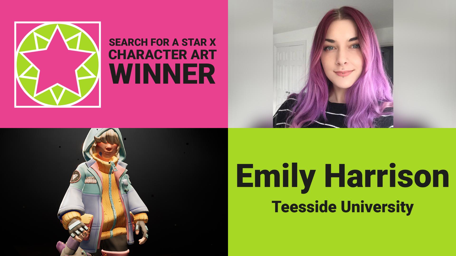 Emily Harrison - SFASX Winner Character Art