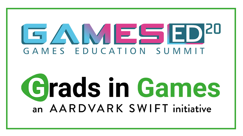 GamesEd20, supported by Grads In Games