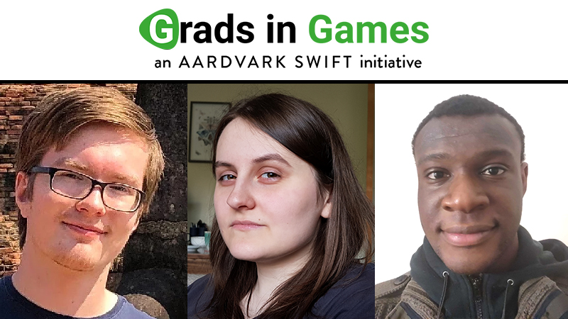 Grads In Games; Our New Studio Starters for July