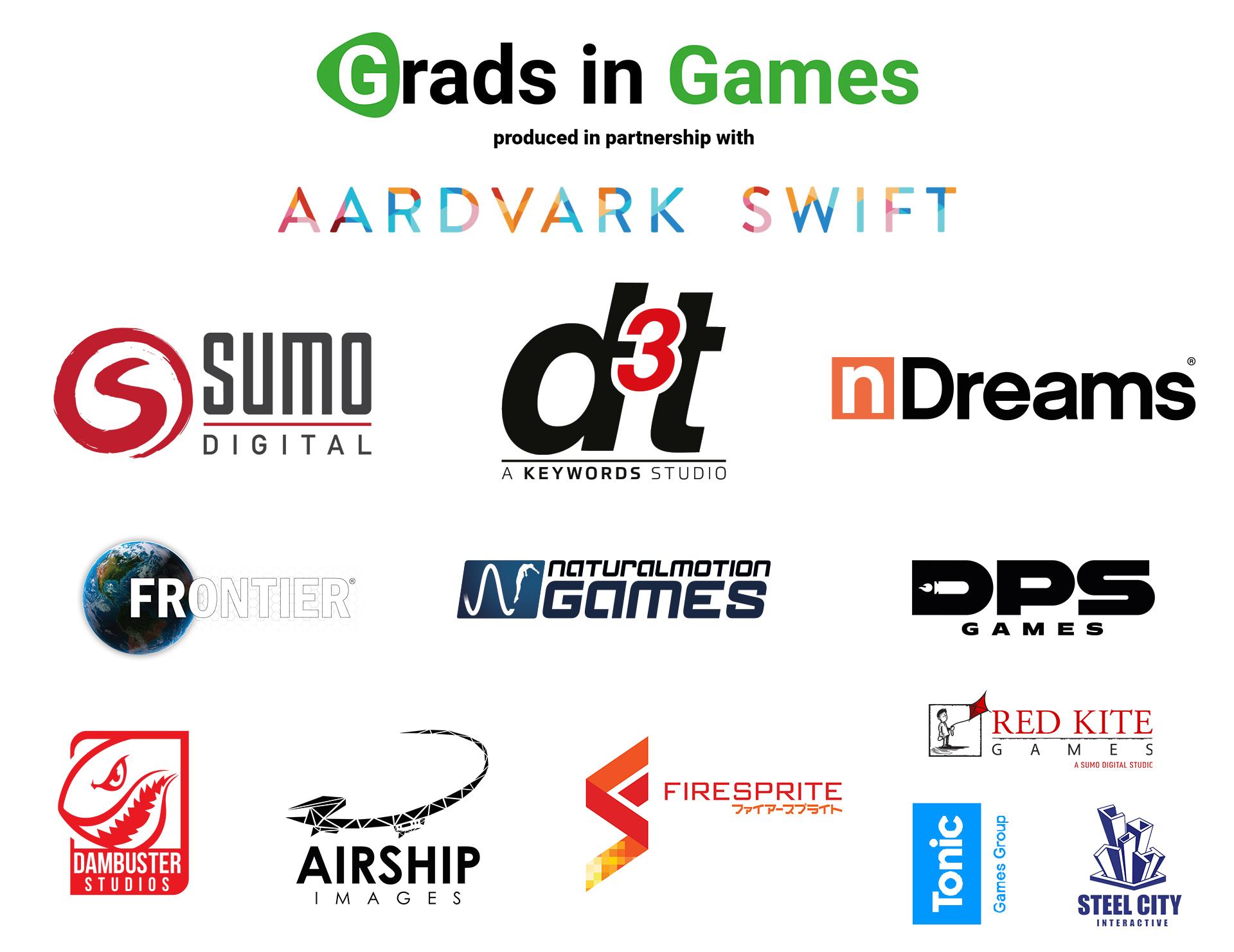 Grads In Games Partners 2018/19