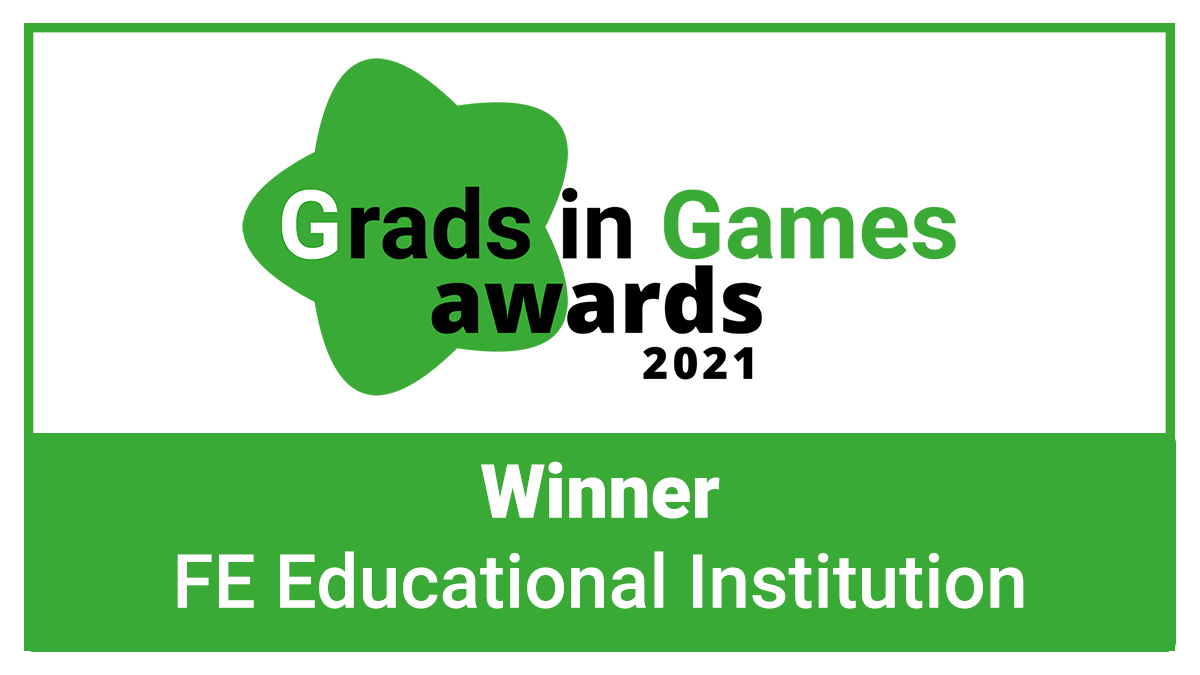 The Grads in Games Awards 2021 - The Further Education Institution Award Winner is Revealed!