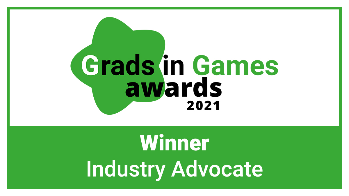 The Grads in Games Awards 2021 - The Industry Advocate Award Winner is Revealed!