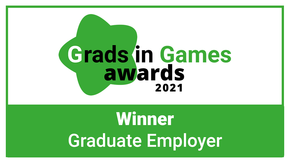 The Grads in Games Awards 2021 - The Graduate Employer Winner is Revealed!