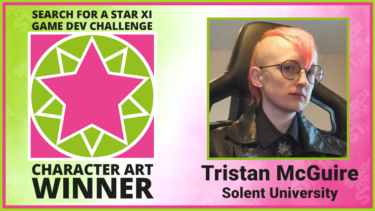 Tristan McGuire, Search For A Star Character Art winner 2021